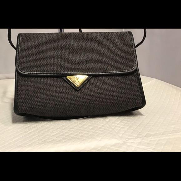 Yves Saint Laurent PVC Leather Crossbody Bag